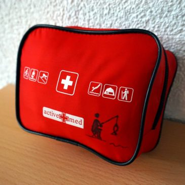 My Travel First Aid Kit
