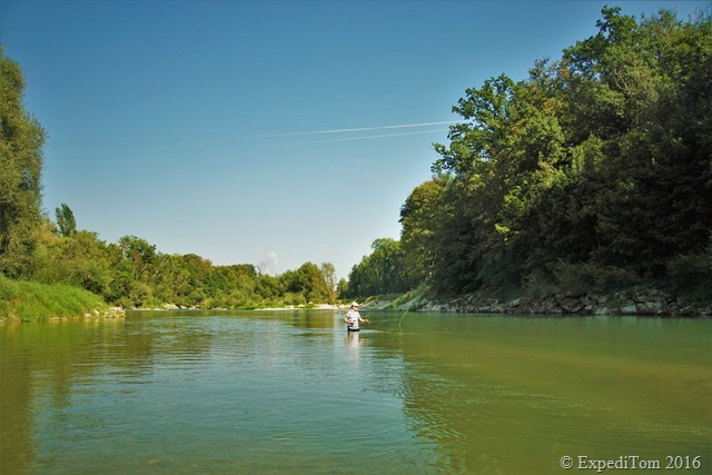 Guided fly fishing tour with Jan3