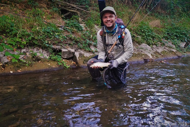 Guided fly fishing tour with Jan5