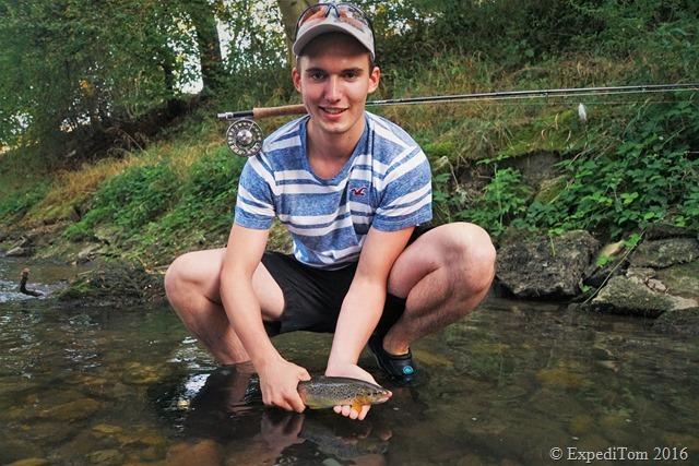 Guided fly fishing tour with Jan6