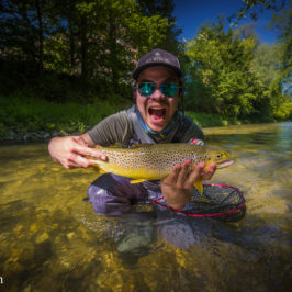 Canal Fly Fishing Surprise