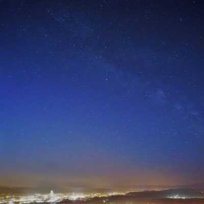 Milkyway over Switzerland