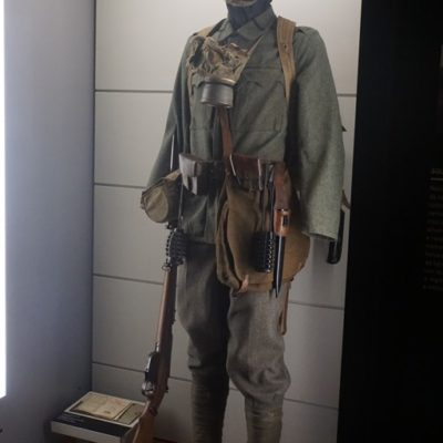 Gear of a Soldier in 1914