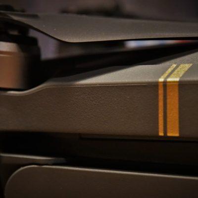 Close-up of a new gadget.