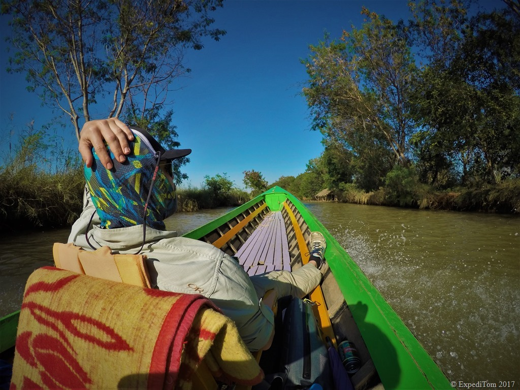 Fly Fishing at Inle Lake Myanmar