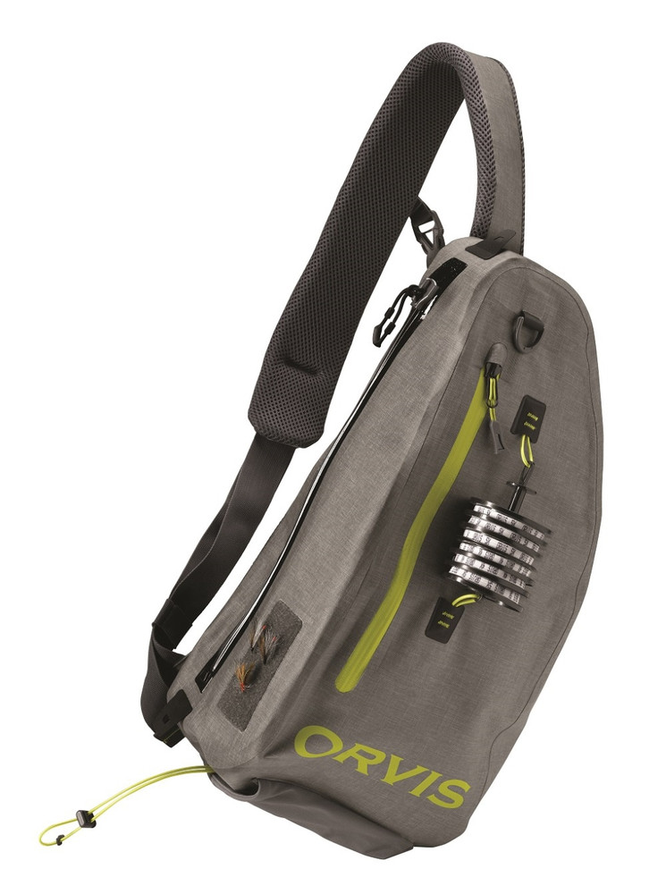 The all new Orvis waterproof Sling Pack available by March 2017