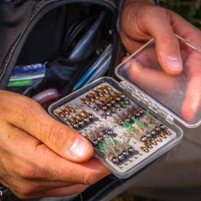 A fly fisherman's secret fly box