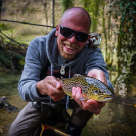Small Stream Fly Fishing with Claudio