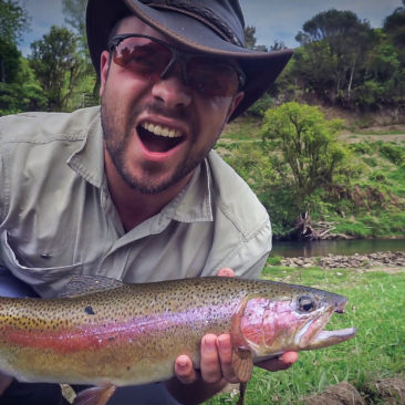 Fly Fishing the Awakino River New Zealand