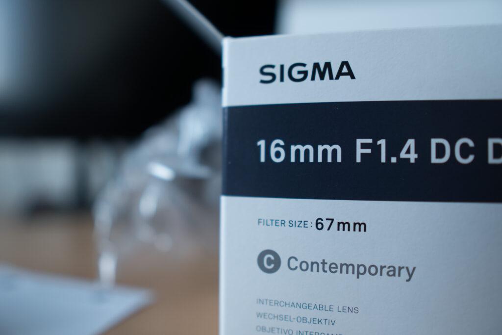 Bokeh of the Sigma 16mm f1.4